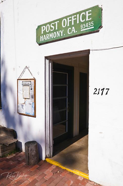 The Harmony Post Office, Harmony, California