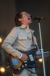 Alex Turner, had singer of Arctic Monkeys headline the main stage on Sunday 1st July at TRNSMT 2018.