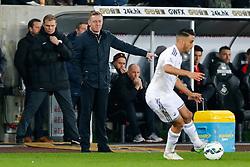 Swansea City Head Coach Garry Monk points - Photo mandatory by-line: Rogan Thomson/JMP - 07966 386802 - 16/03/2015 - SPORT - FOOTBALL - Swansea, Wales — Liberty Stadium - Swansea City v Liverpool - Barclays Premier League.