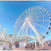 Seattle Great Wheel 8-30-2013