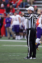 04 November 2017:   Andrew Speciale during the Western Illinois Leathernecks at Illinois State Redbirds Football game at Hancock Stadium in Normal IL (Photo by Alan Look)
