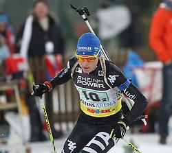 28.12.2013, Veltins Arena, Gelsenkirchen, GER, IBU Biathlon, Biathlon World Team Challenge 2013, im Bild Lukas Hofer (Italien / Italy) // during the IBU Biathlon World Team Challenge 2013 at the Veltins Arena in Gelsenkirchen, Germany on 2013/12/28. EXPA Pictures © 2013, PhotoCredit: EXPA/ Eibner-Pressefoto/ Schueler<br /> <br /> *****ATTENTION - OUT of GER*****