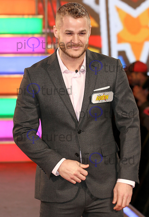 Austin Armacost, Celebrity Big Brother: WInter 2017 - Live Launch Show, Elstree Studios, Elstree UK, 03 January 2017, Photo by Brett D. Cove