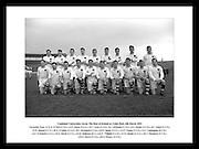 Her ser vi laget Combinet Universities posere da de spilte kamp mot The Rest of Ireland på Croke.Park, 6 mars 1955. Bilder fra store begivenheter finner du på Irishphotoarchive.ie. Kjøp bilder og få.de tilsendt, som plakat eller ferdig innrammet.
