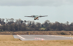High Winds at Edinburgh Airport, Tuesday 7th January 2020<br /> <br /> Planes struggled on landing and take-off as high winds hit Edinburgh Airport today<br /> <br /> Pictured: An Aer Lingus flight takes off<br /> <br /> Alex Todd | Edinburgh Elite media