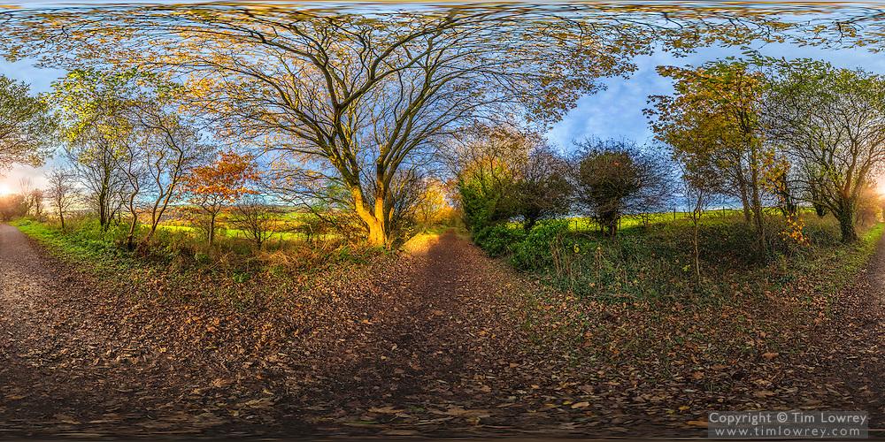 360 degree image of The Derwent Walk in County Durham