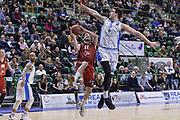 DESCRIZIONE : Eurocup 2015-2016 Last 32 Group N Dinamo Banco di Sardegna Sassari - Cai Zaragoza<br /> GIOCATORE : Tomas Bellas<br /> CATEGORIA : Tiro Penetrazione Difesa<br /> SQUADRA : Cai Zaragoza<br /> EVENTO : Eurocup 2015-2016<br /> GARA : Dinamo Banco di Sardegna Sassari - Cai Zaragoza<br /> DATA : 27/01/2016<br /> SPORT : Pallacanestro <br /> AUTORE : Agenzia Ciamillo-Castoria/L.Canu