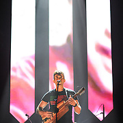 WASHINGTON, DC - May 5, 2015 - Sufjan Stevens performs at DAR Constitution Hall in Washington, D.C. Stevens released Carrie & Lowell, his seventh studio album, in March.   (Photo by Kyle Gustafson / For The Washington Post)