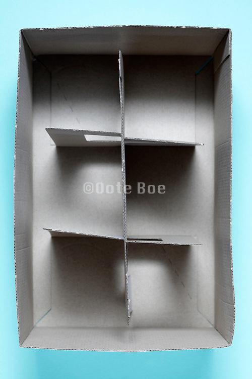 light carton type of glasses transport carry box