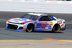 July 20, 2018 - Loudon, NH, U.S. - LOUDON, NH - JULY 20: A.J. Allmendinger, driver of the #47 Kroger Click List Chevy during  practice for the Monster Energy Cup Series Foxwoods Resort Casino 301 race on July, 20, 2018, at New Hampshire Motor Speedway in Loudon, NH. (Photo by Malcolm Hope/Icon Sportswire) (Credit Image: © Malcolm Hope/Icon SMI via ZUMA Press)