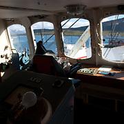 Three weeks aboard the Kong Harald. Hurtigruten, the Coastal Express. The Finnmarken, museum ship.