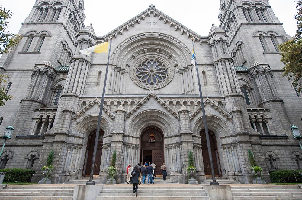 Cathedral Basilica of Saint Louis, a Catholic church in St. Louis, Missouri.