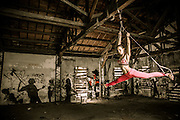 Female trainer on TRX Suspension.
