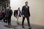 DALLAS, TX - MAY 13:  Yair Rodriguez arrives at the arena for his featherweight fight against Frankie Edgar during the UFC 211 event at the American Airlines Center on May 13, 2017 in Dallas, Texas. (Photo by Cooper Neill/Zuffa LLC/Zuffa LLC via Getty Images) *** Local Caption *** Yair Rodriguez