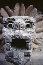Sculpted Head of Goddess, Temple of Quetzacoatl, Teotihuacan
