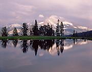 Mammoth Peak and Kuna Crest from Tioga Tarns, Yosemite National Park, California