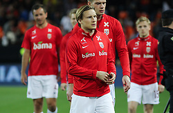 March 23, 2019 - Valencia, Valencia, Spain - Svensson of Norway in action during European Qualifiers championship, , football match between Spain and Norway, March 23th, in Mestalla Stadium in Valencia, Spain. (Credit Image: © AFP7 via ZUMA Wire)