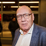 NLD/Rotterdam/20190221 - inloop verjaardagsfeestj Willem van Hanegem, Kees Jansma