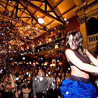 At 11pm on Fridays and Saturdays Samba dancers get on stage and petals fall from the sky.  Its quite something.