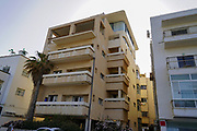 134 HaYarkon street, Tel Aviv was built in 1939 by architects Goldenberg-Pinnaker. The Tel Aviv White City refers to a collection of over 4,000 buildings built in the Bauhaus or International Style in Tel Aviv from the 1930s by German Jewish architects who emigrated to the British Mandate of Palestine after the rise of the Nazis. Tel Aviv has the largest number of buildings in the Bauhaus/International Style of any city in the world. Preservation, documentation, and exhibitions have brought attention to Tel Aviv's collection of 1930s architecture.
