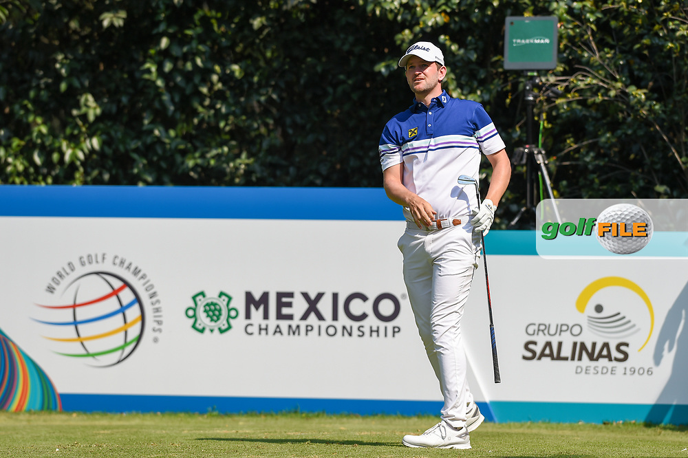 Bernd Wiesberger (AUT) watches his tee shot on 3 during Rd4 of the World Golf Championships, Mexico, Club De Golf Chapultepec, Mexico City, Mexico. 2/23/2020.<br /> Picture: Golffile | Ken Murray<br /> <br /> <br /> All photo usage must carry mandatory copyright credit (© Golffile | Ken Murray)