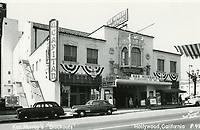 1948 El Capitan Theater on Vine St.