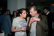 TRACEY EMIN; RON, Counter Editions 10th anniversary party. Rivington Grill. Shoreditch. London. 5 May 2010 *** Local Caption *** -DO NOT ARCHIVE-© Copyright Photograph by Dafydd Jones. 248 Clapham Rd. London SW9 0PZ. Tel 0207 820 0771. www.dafjones.com.<br /> TRACEY EMIN; RON, Counter Editions 10th anniversary party. Rivington Grill. Shoreditch. London. 5 May 2010