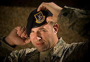Staff Sgt. James Lynch, 437th Security Forces, poses for a portrait at Charleston Charleston Air Force Base, S.C., on Oct. 30, 2008.