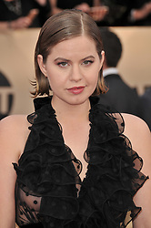Emily Althaus arrives at the 24th annual Screen Actors Guild Awards at The Shrine Exposition Center on January 21, 2018 in Los Angeles, California. <br /><br />(Photo by Sthanlee Mirador/Sipa USA)