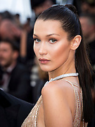 Cannes , France<br /> 11/05/2016<br /> Bella Hadid attend the Cafe Society Red Carpet at the Palais des Festival in cannes  during the 69th Cannes Film Festival in Cannes