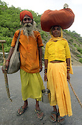 Pigrims journey to Rishikesh - India