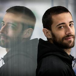 20210512: SLO, Ice Hockey - Portrait of Matija Pintaric, goaltender