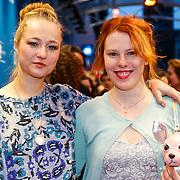 NLD/Amsterdam/20130408 - Filmpremiere Daglicht, Caroline Spoor en Coosje Smid