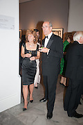 DEBRA WEISS; SANDY NAIRNE, Mark Weiss dinner, Nationaal Portrait Gallery. London. 15 October 2012.