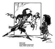 Don Juan. Ron Pember as Sganarelle, Nigel Terry as Don Juan