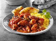 Chicken Jajfezzi Indian Curry  food stock pictures, photos fotos & images