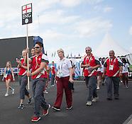 England Arrival Ceremony 220714