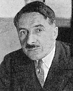 Raoul Dautry (1880-1951) French politician and engineer. Director of State Railways 1928-38, Armaments Minister 1939-1940. 1944 appointed Minister of Reconstruction by  de Gaulle, then Dircetor, French Atomic Energy Agency.