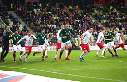 November 13, 2017 - Gdansk, Poland - International friendly soccer match between Poland and Mexico at the Energa Stadium in Gdansk, Poland on 13 November 2017  (Credit Image: © Mateusz Wlodarczyk/NurPhoto via ZUMA Press)
