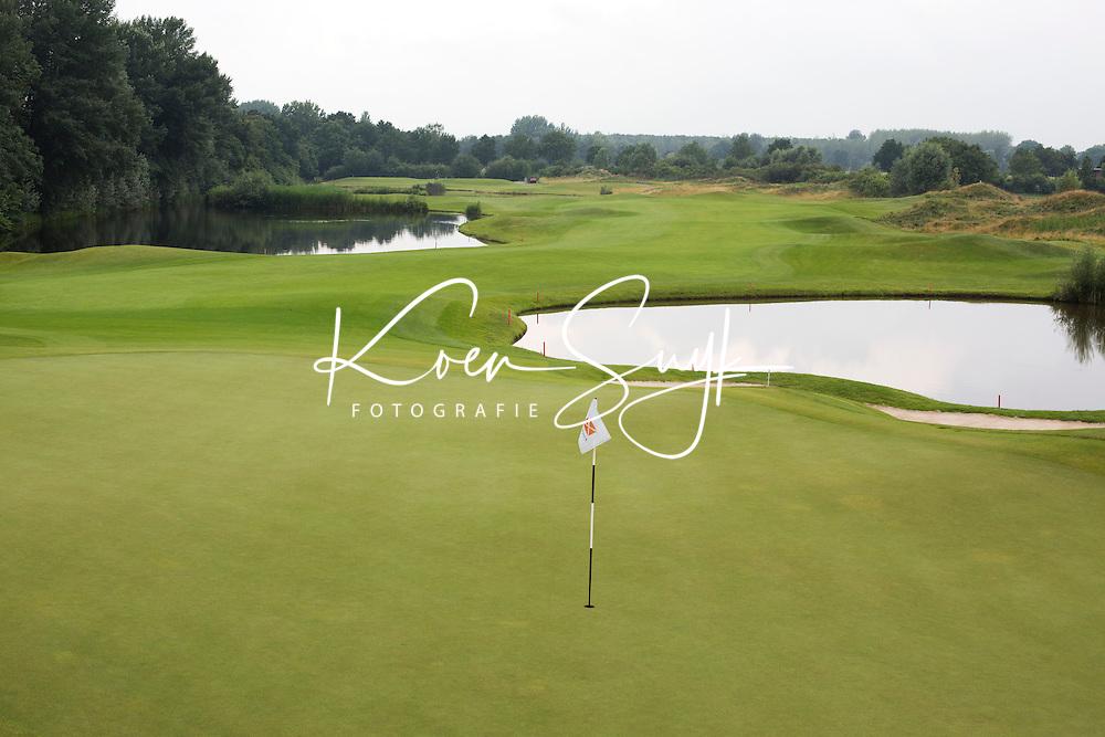 SPIJK - Hole 17 van The Dutch .  Golfbaan THE DUTCH, COPYRIGHT KOEN SUYK