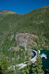 Ross Dam, Ross Lake National Recreation Area, North Cascades National Park, Washington, US