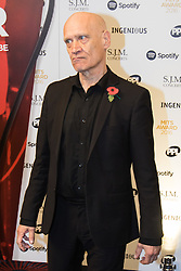 Grosvenor House Hotel, London, November 7th 2016. Luminaries from the music industry gather at the Grosvenor House Hotel for the Music Industry Awards, where this year The Who's Roger Daltrey CBE is honored with the 25th annual MITS award in support of Nordoff Robbins and The BRIT Trust. PICTURED: Wilko Johnson