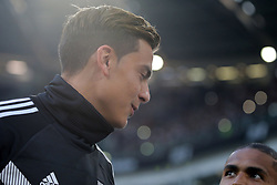 October 20, 2018 - Turin, Turin, Italy - Paulo Dybala #10 of Juventus FC and Douglas Costa #11 of Juventus FC before the serie A match between Juventus FC and Genoa CFC at Allianz Stadium on October 20, 2018 in Turin, Italy. (Credit Image: © Giuseppe Cottini/NurPhoto via ZUMA Press)