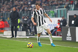 December 20, 2017 - Turin, Piedmont, Italy - Stephan Lichtsteiner (Juventus FC) during the Italian Cup football match between Juventus FC and Geona CFC at Allianz Stadium on 20 December, 2017 in Turin, Italy. ..Juventus won 2-0 over Genoa. (Credit Image: © Massimiliano Ferraro/NurPhoto via ZUMA Press)