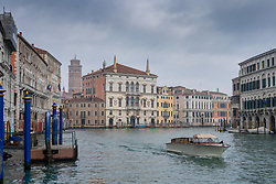 General views of the Grand Canal in Venice. From a series of travel photos in Italy. Photo date: Monday, February 11, 2019. Photo credit should read: Richard Gray/EMPICS