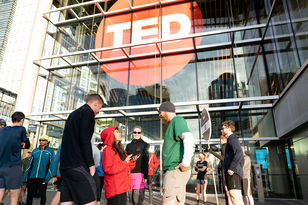 Morning Run, sponsored by Gatorade at TED2019: Bigger Than Us. April 15 - 19, 2019, Vancouver, BC, Canada. Photo: Bret Hartman / TED