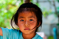 Hmong tribe village, Mae Rim District, Highlands near Chiang Mai, Northern Thailand