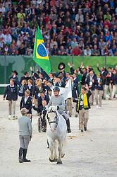 Team BRA - Opening Ceremony - Alltech FEI World Equestrian Games™ 2014 - Normandy, France.<br /> © Hippo Foto Team - Jon Stroud<br /> 24/06/14