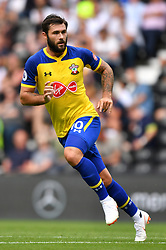 "Southampton's Charlie Austin during a pre season friendly match at Pride Park, Derby. PRESS ASSOCIATION Photo. Picture date: Saturday July 21, 2018. Photo credit should read: Anthony Devlin/PA Wire. EDITORIAL USE ONLY No use with unauthorised audio, video, data, fixture lists, club/league logos or ""live"" services. Online in-match use limited to 75 images, no video emulation. No use in betting, games or single club/league/player publications."