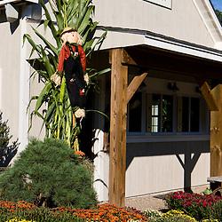 The gift barn at Charmingfare Farm in Candia, New Hampshire.